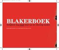 Het Blakerboek - Vebon