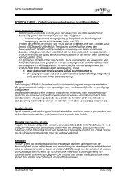 Sectie Kleine Blusmiddelen POSITION PAPER ... - Vebon