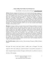 Romanitas, lenguas y literaturas romances Vol. 3, Nº 1, 2008 http ...