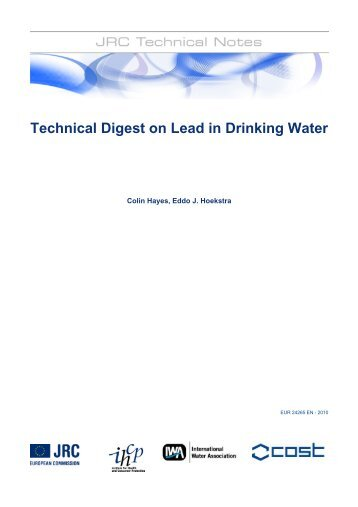 Technical Digest on Lead in Drinking Water - Institute for Health and ...