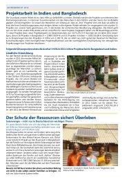 Projektarbeit in Indien und Bangladesch - Andheri-Hilfe Bonn
