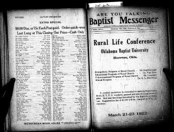 February 8, 1922.pdf - Baptist General Convention of Oklahoma