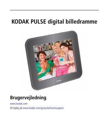 KODAK PULSE digital billedramme