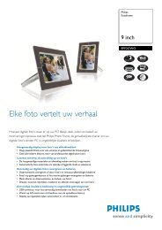 9FF2CWO/00 Philips Fotoframe - VB