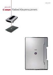 Flatbed Kleurenscanners - VB