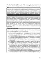 Deel 3 algemene regels: algemene regel 15 t/m 31