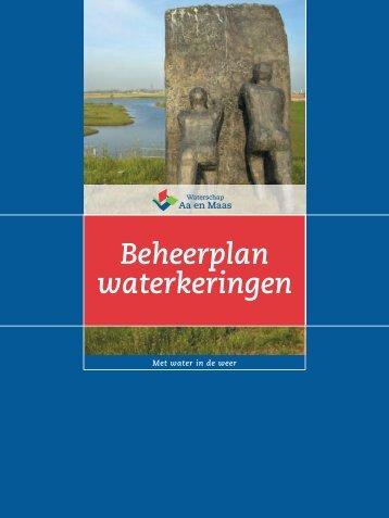 Beheerplan waterkeringen