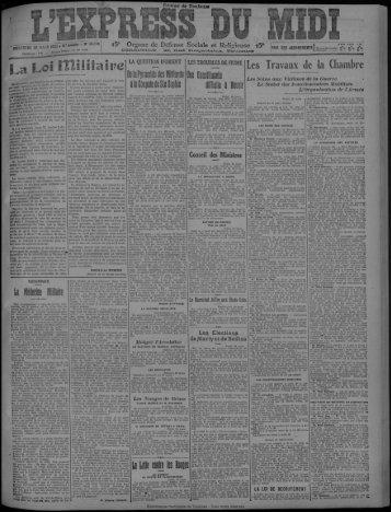 29 mars 1922 - Bibliothèque de Toulouse