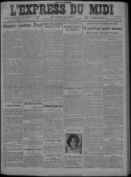 15 janvier 1925 - Bibliothèque de Toulouse