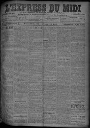 28 Mai 1902 - Bibliothèque de Toulouse