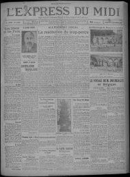 11 octobre 1929 - Bibliothèque de Toulouse - Mairie de Toulouse