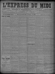 17 Novembre 1896 - Bibliothèque de Toulouse