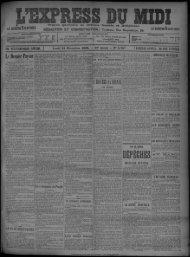 24 Novembre 1902 - Bibliothèque de Toulouse