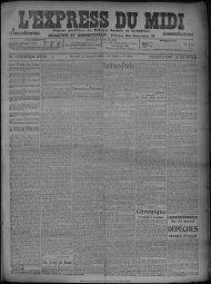 22 septembre 1909 - Bibliothèque de Toulouse