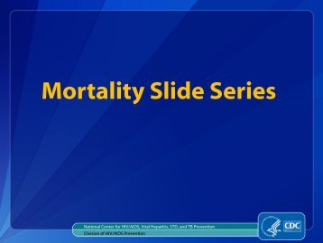 26 Slides in Adobe PDF Format - [8.5 MB] - Centers for Disease ...