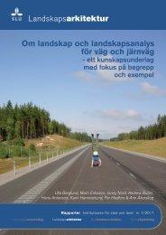 Landskapsarkitektur Om landskap och landskapsanalys för ... - SLU