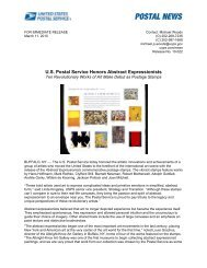 U.S. Postal Service Honors Abstract Expressionists - USPS.com ...