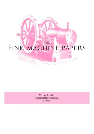 PINK MACHINE PAPERS - TextFiles.com