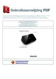 33610-11-16 (quick start guide) - GEBRUIKSAANWIJZING PDF