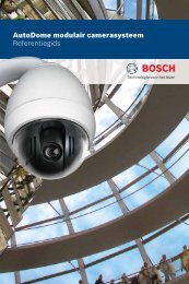nl - Bosch Security Systems