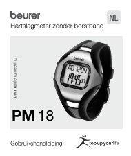 Hartslagmeter zonder borstband - Fonq.nl