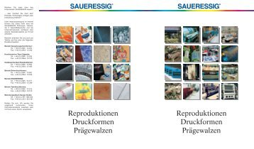 Reproduktionen Druckformen Prägewalzen Reproduktionen ...