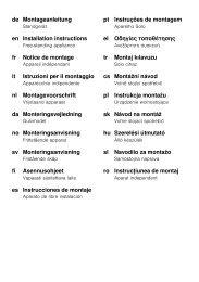 de Montageanleitung en Installation instructions fr Notice de ... - Quelle