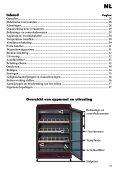Gebruiksaanwijzing - Liebherr - Page 3