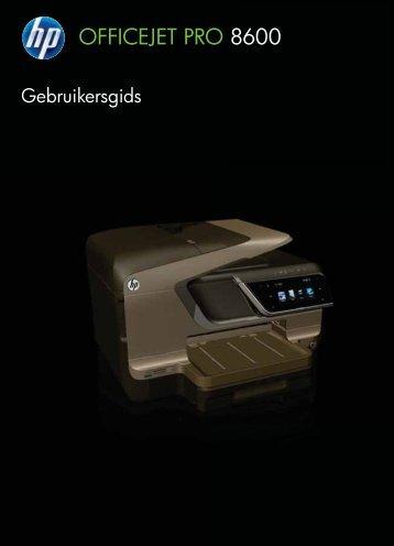 HP Officejet Pro 8600 (N911) Printer - NLWW - Vanden Borre