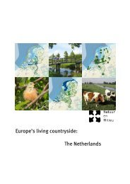 Europe's living countryside: The Netherlands - Natuur en Milieu ...
