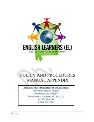 (EL) Policy and Procedures Manual 9-6-11 Appendix Revised ... - Alex