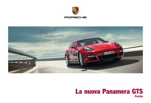 La nuova Panamera GTS