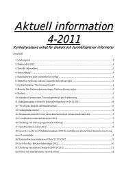 Aktuell information 4-2011 - Sakasti