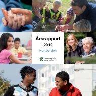 Årsrapport 2012 Kortversion - Göteborg
