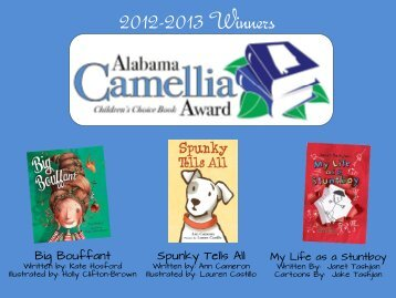 2013 Camellia Children's Choice Book Award Winners - Alex