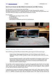 Bericht zum Einsatz des MpC-Bildschirmstellwerks beim MEC ...