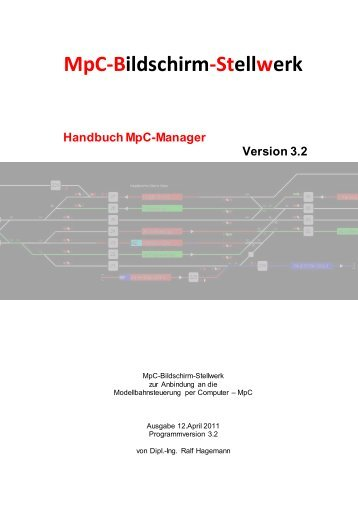 MpC-Manager Version 3.2