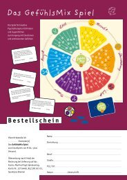 Das GefühlsMix Spiel - Manfred Vogt Spieleverlag