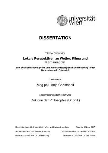2007 Dissertation_Christanell.pdf