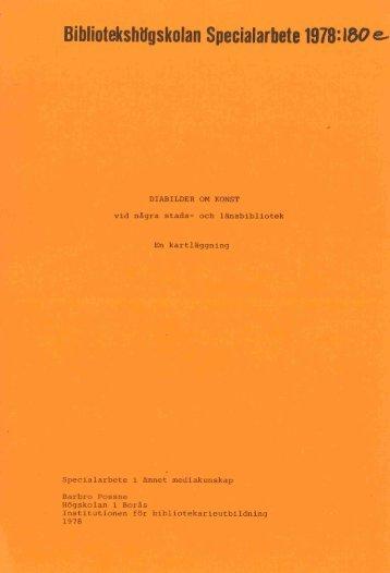 1978 nr 180.pdf - BADA - Högskolan i Borås