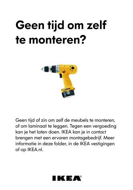 Geen Tijd Om Zelf Te Monteren Ikea