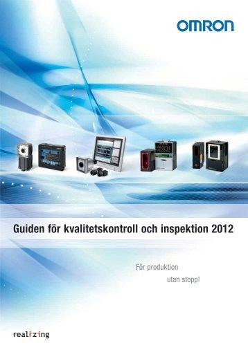 Guiden för kvalitetskontroll och inspektion 2012
