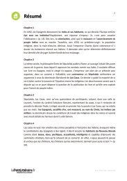 La controverse de Valladolid, Carrière - Dossier Lycée - Numilog
