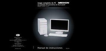 Manual de instrucciones - medion