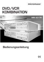 DVD-Video Kombi MM 42178.book - medion