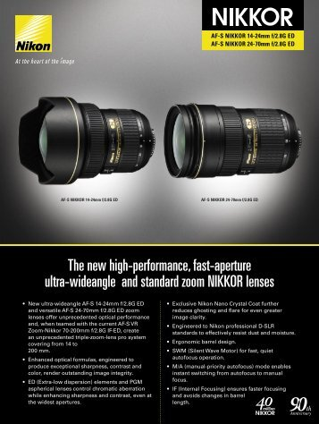 The new high-performance, fast-aperture ultra-wideangle - Lens-Club