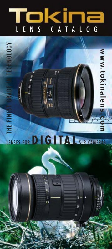 Tokina New Lens Catalog.qx - Lens-Club