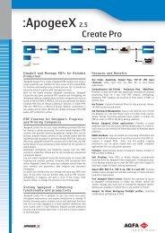 :apogeex 2.5 Create Pro, Datasheet/Leaflet, English (2005-05-19)