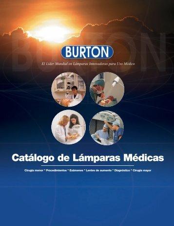 catálogo Burton - medicomercio
