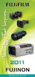 Fujifilm Optical Device Pocket Product Guide - Lens-Club